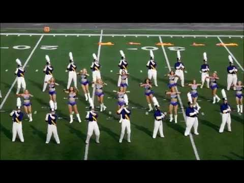 University of North Alabama Pride of Dixie Band 2016 Majorette Performance