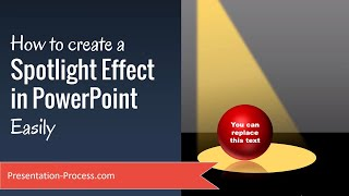 How to Create Spotlight Effect in PowerPoint Easily
