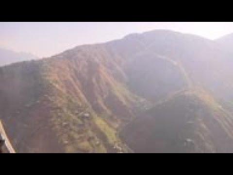 Pakistan army shows damage in Kashmiri village