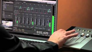 Using Control Surfaces in the Audio Workflow with Audition CS6