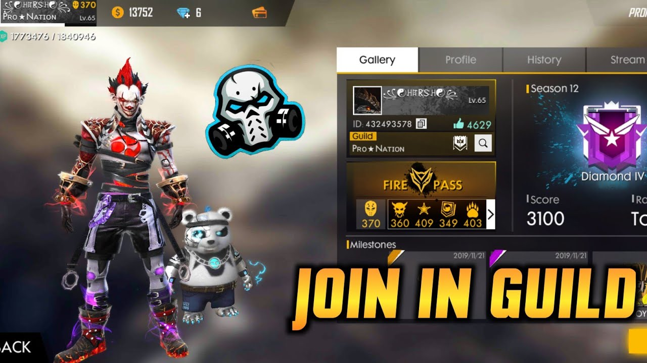 How To Join In A Guild On Freefire ꭾrɲꍏꮖꭵɳjoin Our Guild