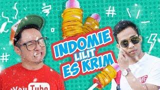 INDOMIE + ICE CREAM Wkwkwkw #EGY Enak Gak Ya !?