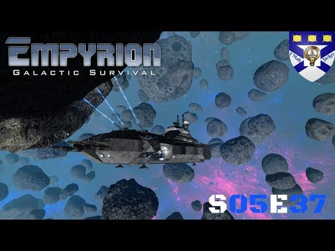 """Empyrion Galactic Survival (S05) -Ep 37 """"Freighter Crew Asteroid Mining"""" -Multiplayer """"Let's Play"""""""