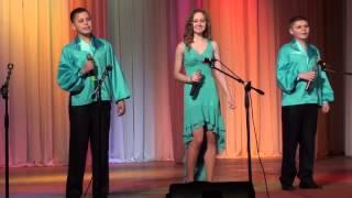 Самый добрый человек - детское вокальное трио 'Магдалена' (Голос мрій-2015)