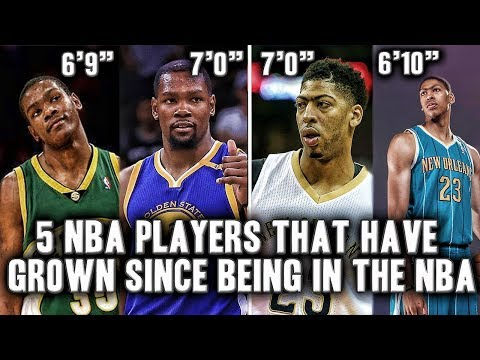 5 NBA Players That Grew While In The NBA