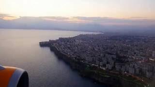 Antalya landing