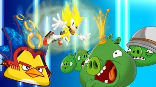 Angry Birds Epic: Super Sonic Powerup Gets 3 Stars - Sonic Dash The Hedgehog