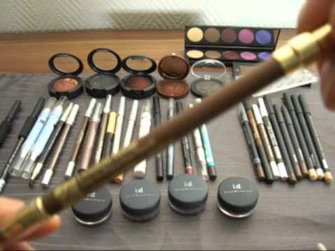 Favorite Eyeliners/Bare Minerals liner shadows