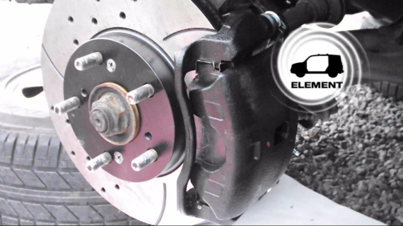 Honda Element Front Brake Job (Calipers, Rotors, Pads ...