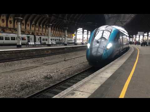 Transpennine Express 802 201 Arrives Into York With A Newcastle To Manchester Airport