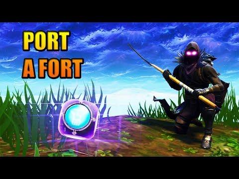 NEW PORT A FORT ITEM!! #1 RANKED SOLO SPELER NL PS4 | FORTNITE BATTLE ROYALE