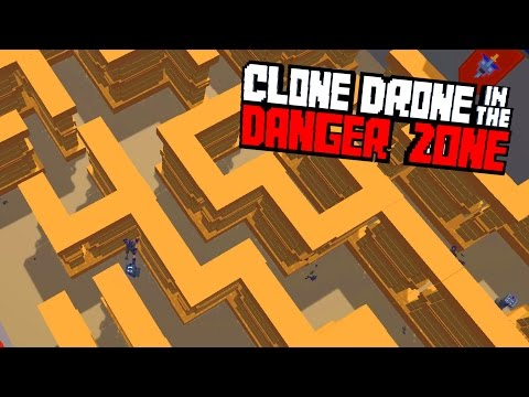 A-MAZE-ING Community Maps -  Clone Drone in the Danger Zone Gameplay