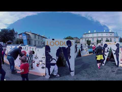 Estonia 100: Children's Republic event tour - theater, play and workshops, filmed in 360