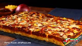 Jet's Aloha Bbq Chicken Pizza