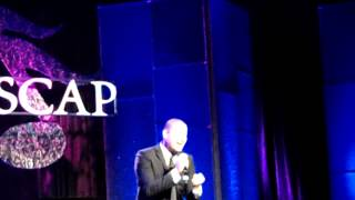 Victor Manuelle canta para Marc Anthony, evento Ascap 2012, Beverly Hills, Ca