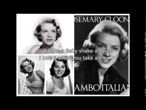 ROSEMARY CLOONEY - Mambo Italiano�)with lyrics