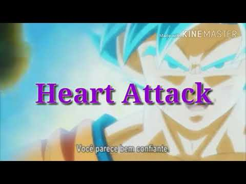 Vegeta & Goku VS Goku Black & Zamusa [AMV] Heart Attack