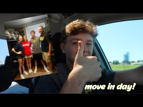 MOVING MY BROTHER INTO COLLEGE!