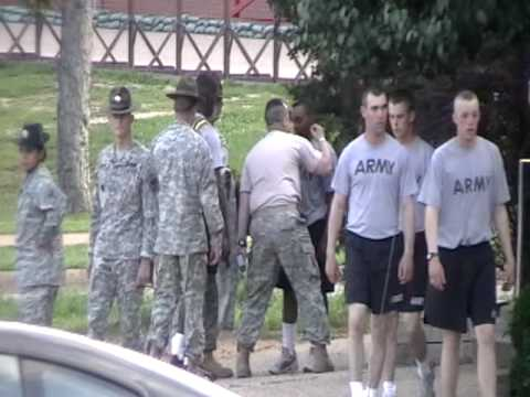 Drill Sergeant Gone Crazy For No Reason