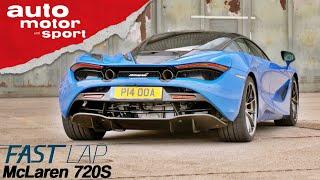 McLaren 720S: Der zweite Platz wäre eine Blamage - Fast Lap | auto motor und sport