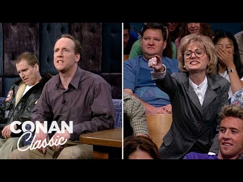 "The Stars Of ""Upright Citizens Brigade"" On ""Late Night With Conan O'Brien"" 08/13/98"