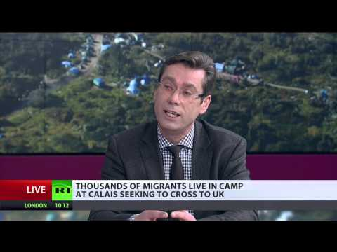 Migrants not interested in staying in Calais, just crossing point to UK - Deputy Mayor