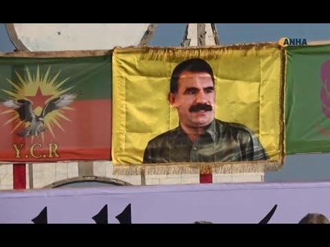 ميليشيا PYD تتحدى واشنطن وترفع صور أوجلان وقادة PKK في الحسكة شمال سوريا  - 09:53-2018 / 11 / 14