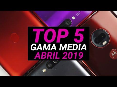 TOP Mejores Teléfonos Gama Media Del 2019