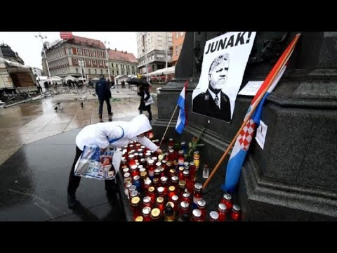 Tributes paid to dead war criminal Praljak in Zagreb
