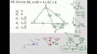 Relaciones Métricas en un triángulo rectángulo