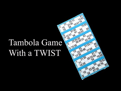 Kitty Party Tambola Game With A Twist| Interesting Tambola Game Idea