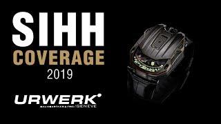 SIHH 2019: Urwerk UR-105 CT Maverick, UR-111C, and the AMC Watch!