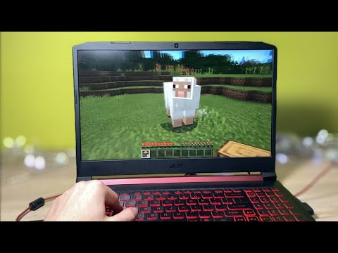 Acer Nitro 5 Games Test (Minecraft, GTA IV, CSGO, PUBG)   2021