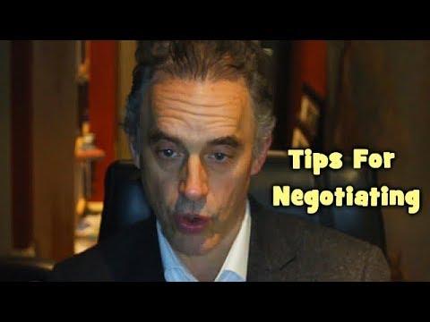 Jordan Peterson - Tips For Negotiating