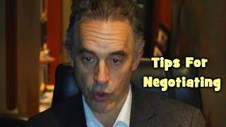 Jordan Peterson - Tİps For Negotiating