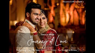 Journey of Love | Vrinda & Mohit | Films by Shrey Devika | Best Wedding Teaser