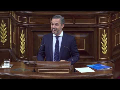 Juan Bravo (PP) carga contra Pedro Duque en el Congreso