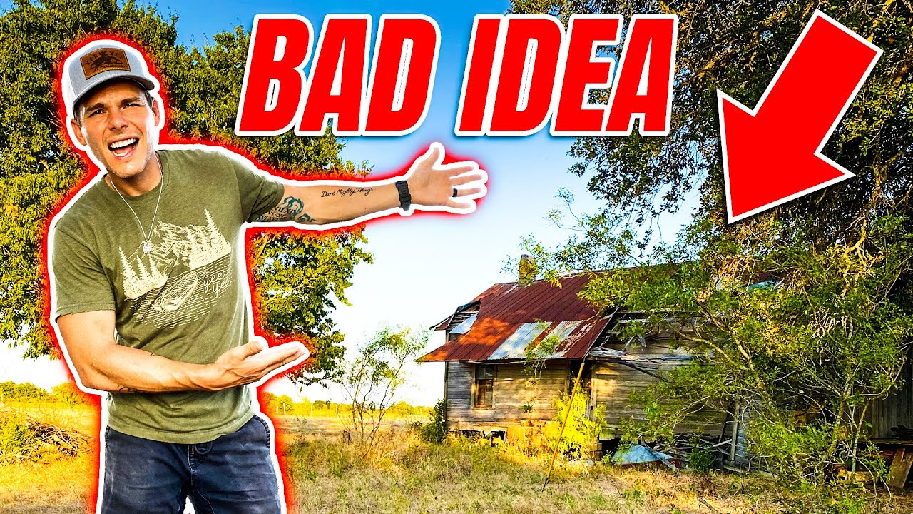 We found an abandoned house!