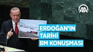 Cumhurbaşkanı Erdoğan'ın BM'deki tarihi konuşması