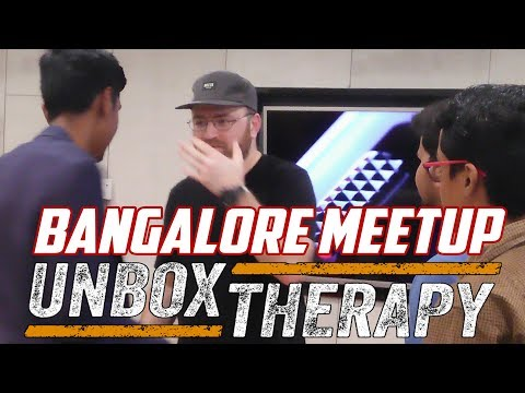 DISTRIBUTING T-SHIRTS TO SUBSCRIBERS | UNBOX THARAPY | LEWIS HILSENTEGER | BANGALORE MEETUP 2017