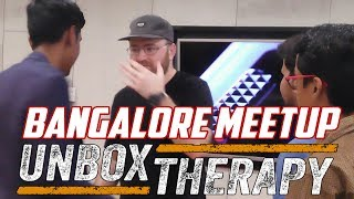 DISTRIBUTING T-SHIRTS TO SUBSCRIBERS | UNBOX THARAPY | LEWIS HILSENTEGER | BANGALORE MEETUP 2017 thumbnail