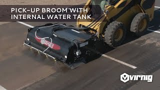 Video still for Pick-Up Broom with Internal Water Tank