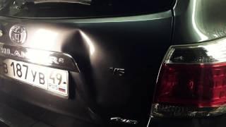 Удаление вмятин без покраски в Таганроге. PDR. Toyota Highlander.