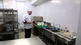 Работа кухни ресторана