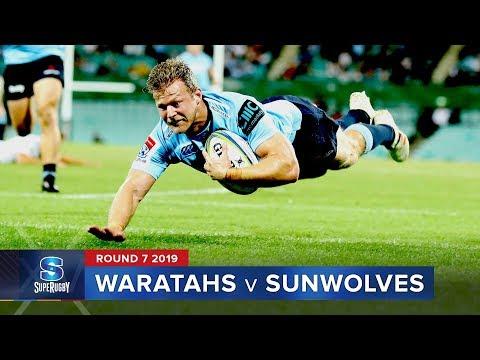 Waratahs v Sunwolves | Super Rugby 2019 Rd 7 Highlights