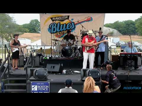 Tas Cru & The Tortured Souls Live @ The 5th Annual Gloucester Blues Festival 8/6/16