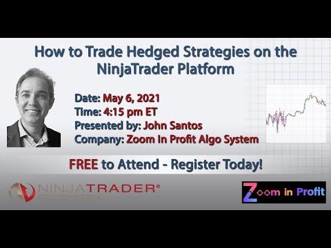How to Trade Hedged Strategies on the NinjaTrader Platform