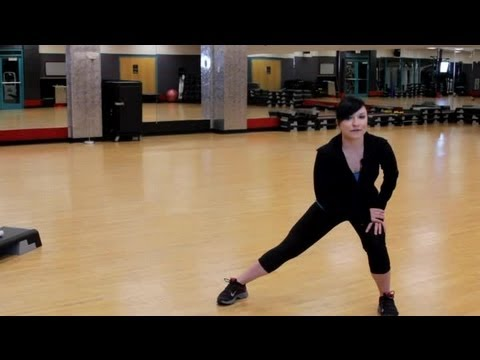Standing Lunge Adductor Stretch: Exercising & Stretching
