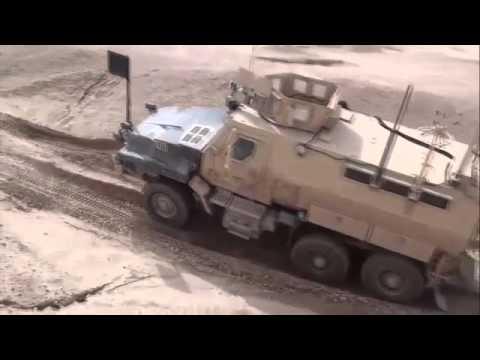 Cougar , UK - 4x4 MRAP Armoured Vehicle