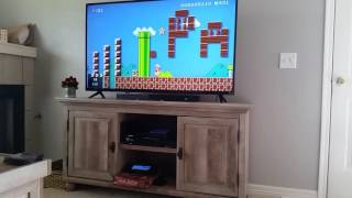 I proposed to my girlfriend in Mario Maker!